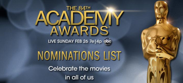 Peliculas nominadas al Oscar 2013