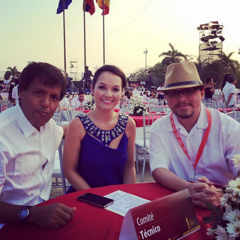 Algunos miembros del Comité Técnico de los Premios India Catalina