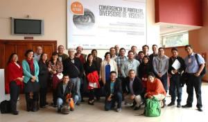 Integrantes de la Red INAV en el congreso de Loja (Ecuador)